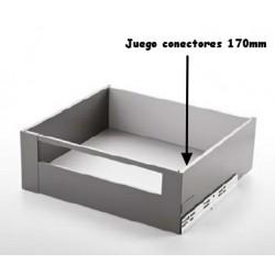 JGO. CONECTORES FRONTAL SLIM 178 BLANCO MATE