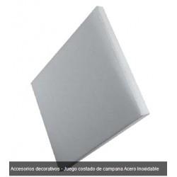 JUEGO PROTECTOR CAMPANA 330x270 2.P INOX MATE