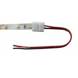 CONECTOR C/CABLE PARA TIRA DE LED 8 M/M