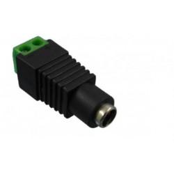 CONECTOR AEREO HEMBRA SALIDA TRANSFORM. A LED