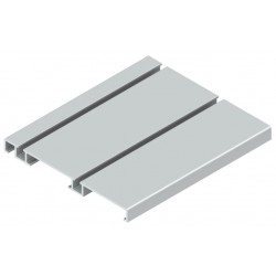 CARRIL INFERIOR ANCHO S80 6 MTS