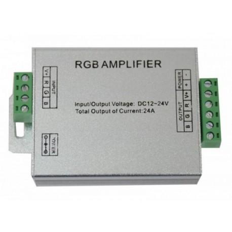 AMPLIFICADOR PARA LED RGB 12V/24V